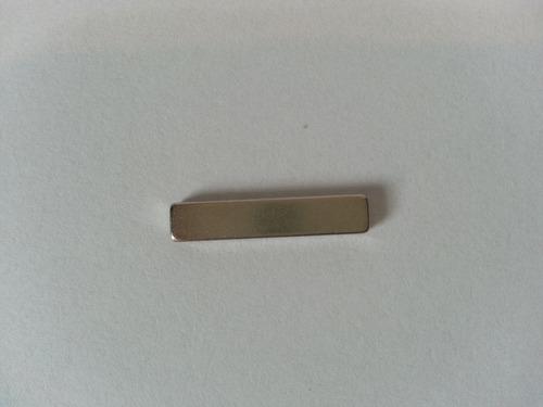 imã de neodímio / super forte / 20mm x 4mm x 2mm - 20 peças