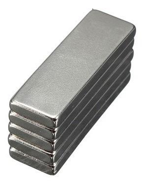 imã de neodímio / super forte / 30mm x 10mm x 3mm * 4 peças