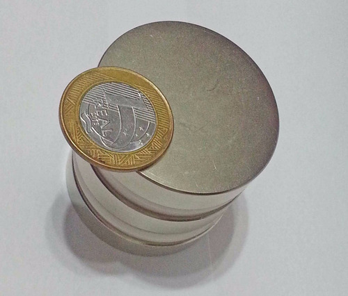 imã de neodímio / super forte / 48mm x 10mm  * 1 peças