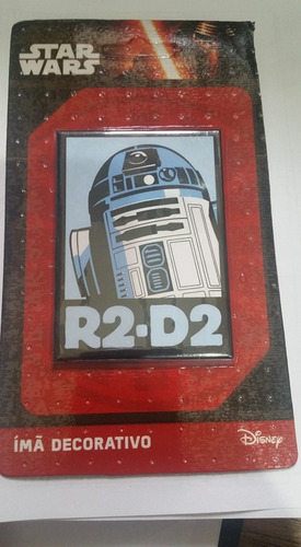 imã decorativo star wars r2-d2