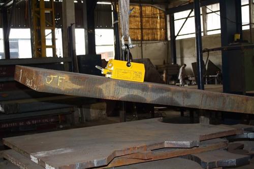 imã levantador magnético para chapas polti 1.000 kg 1 ton