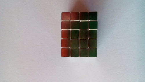 imã neodímio 4x3mm n35 potente 50 peças