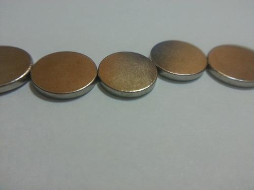 ima de neodímio / super forte / 10mm x 1,5mm * 100 peças