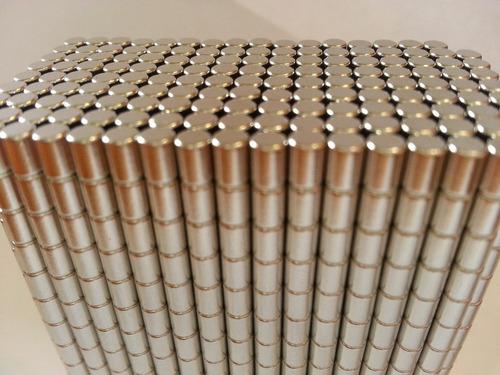 ima de neodímio / super forte / 3mm x 4mm - 50 peça