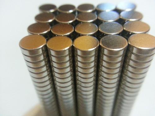 ima de neodímio / super forte / 5mm x 1,5mm * 50 peças *