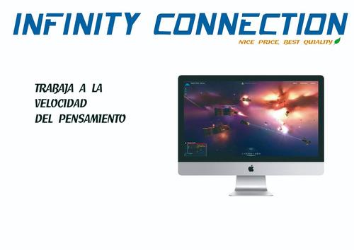 imac 21.5 21 mmqa2e/a 16gb  i5 3.6ghz 1tb 2gb video nueva