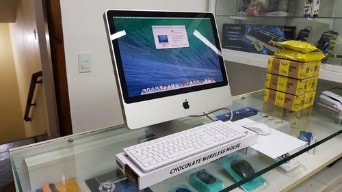 imac apple 20 a1224 core 2 duo 4g ssd 128 (mid 2008) equipamento em ótimo estado! frete grátis garantia pronta entrega