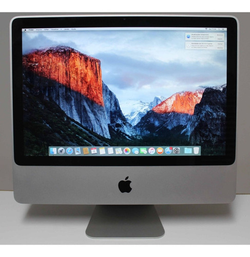 imac mc015ll/a 20'' core 2 duo 2ghz 4gb hd-500gb