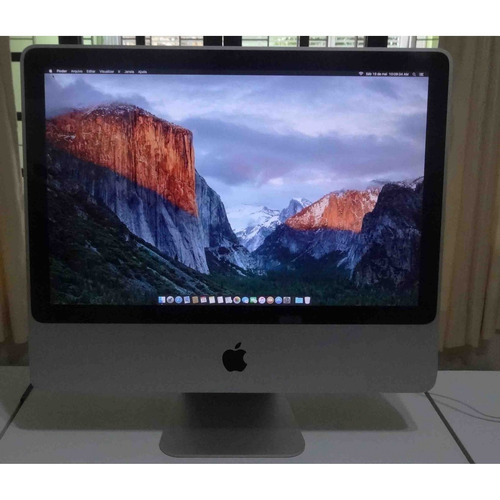 imac mc015ll/a intel c2d  2ghz 4gb hd-160gb. nf e garantia