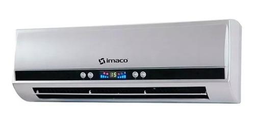 imaco - estufa /calentador de pared 3 niveles wh1000 - gris