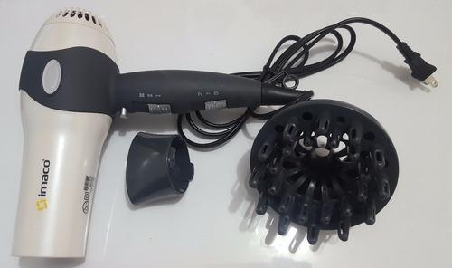 imaco secadora de cabello, gama profesional 3 temperaturas