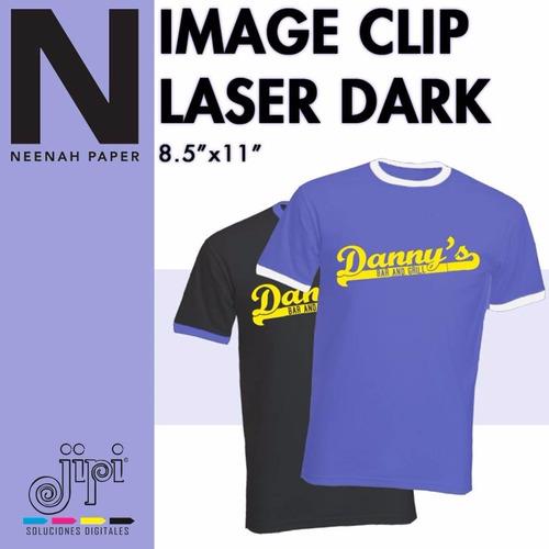 imageclip laser dark a+b x10 hojs carta no requiere recorte