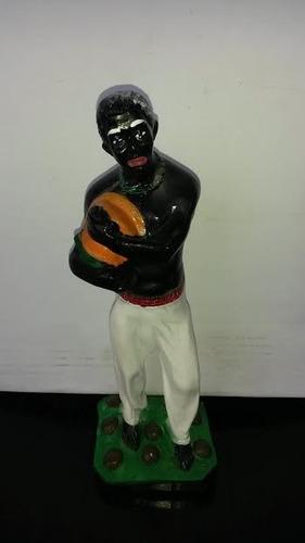 imagem baiano sete cocos escultura 100% em gesso estatua