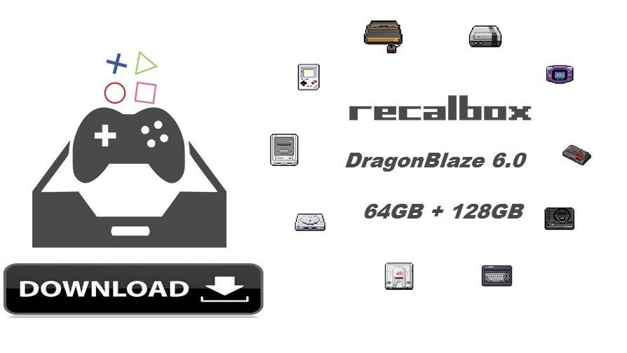 Imagem Batocera Rasp E Pc 16gb, 32gb, 64gb 128gb Dragonblaze