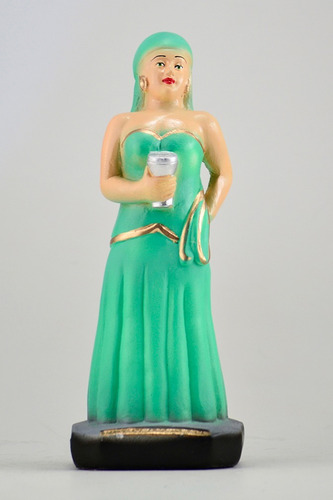 imagem cigana madalena escultura em gesso estatua ciganos