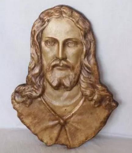 imagem de jesus em relevo estátua de pendurar parede