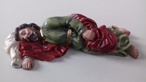 imagem de são josé dormindo resina original estatua