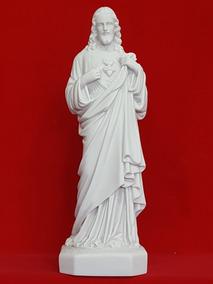 50064ad41 Nossa Senhora Sagrado Coração Maria Resina - Esculturas no Mercado ...
