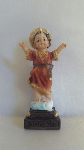 imagem em resina menino jesus 07 cm
