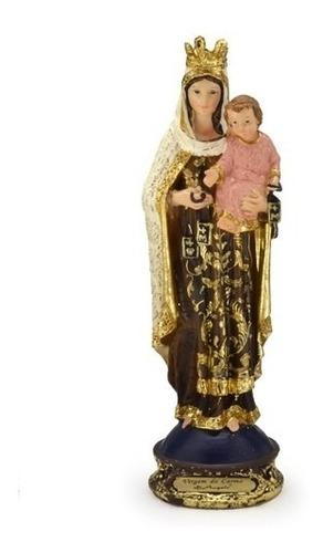 imagem escultura nossa senhora do carmo 13cm