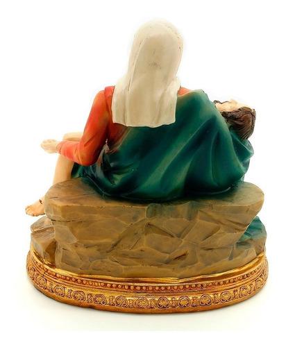 imagem escultura pietá 10cm
