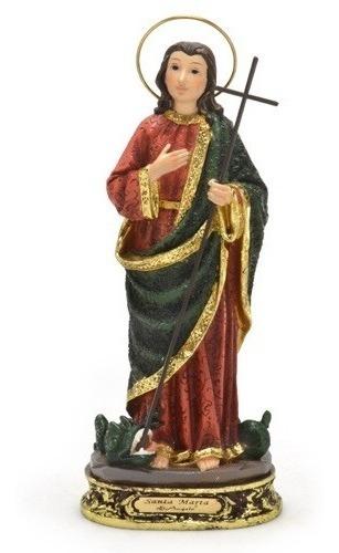 imagem escultura santa marta 13cm