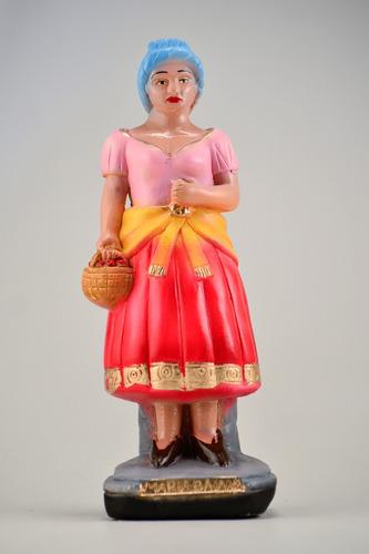imagem maria baiana escultura gesso estatua baiana maria 23c