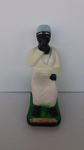 imagem mãe benedita escultura em gesso estatua preta velha