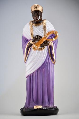 imagem nanã escultura orixás do candomblé africano gesso