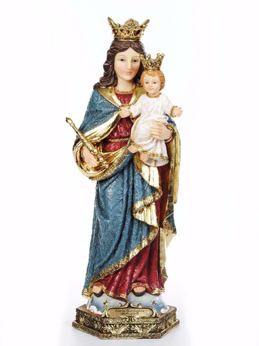 imagem nossa senhora auxiliadora 20 cm di ângelo barroco