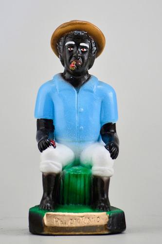imagem preto velho pai antonio escultura estatua em gesso