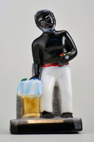 imagem preto velho pai thomé escultura 100% em gesso estatua