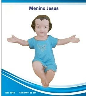 imagem sacra - menino jesus emborrachado