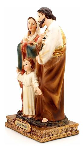 imagem sagrada família 12cm