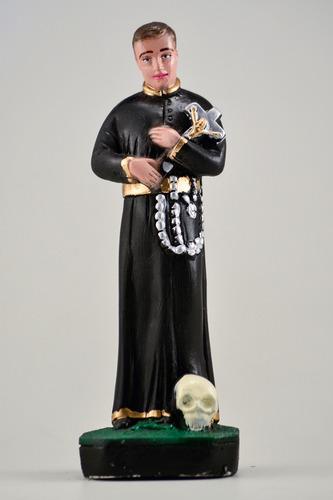 imagem são geraldo escultura gesso estatua santo católico