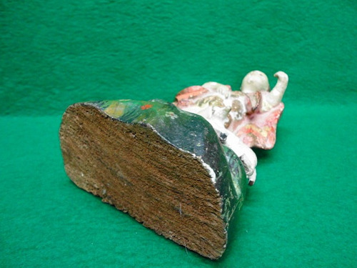 imagem são joão batista antigo madeira
