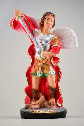 imagem são miguel arcanjo escultura estatua santo católico