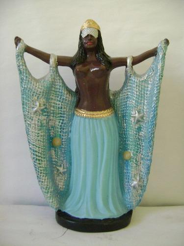 imagem yemanjá escultura orixá candomblé africano estatua 40