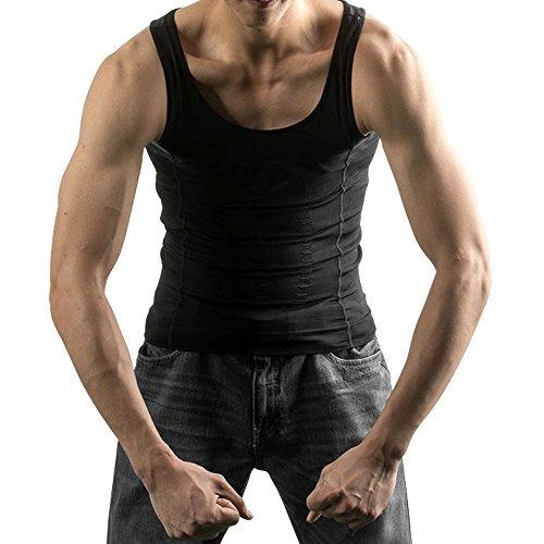 imagen body shaper para hombre que adelgaza la camisa tummy