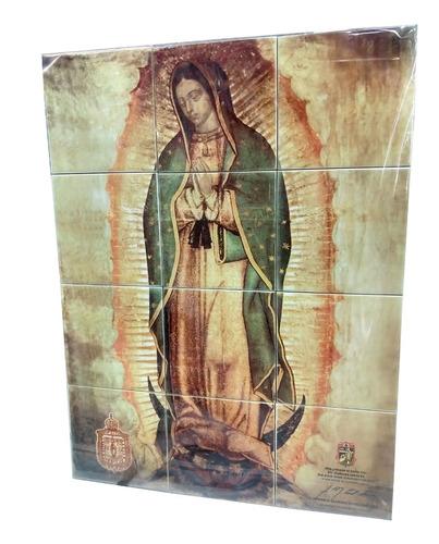 imágen de la virgen de guadalupe (12 azulejos)
