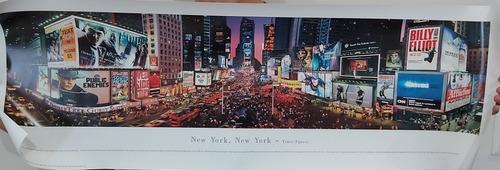 imagen panorámico de new york times square nuevo sin marco
