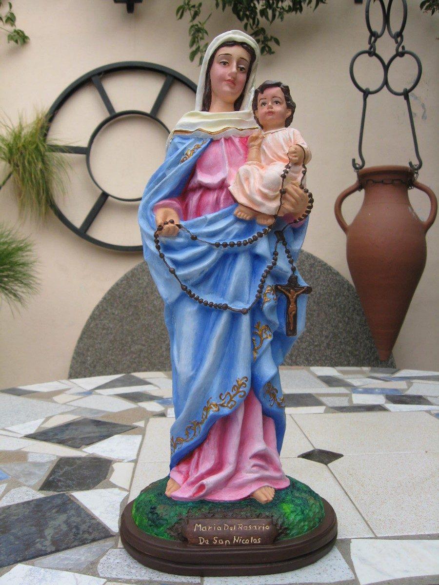 Imagen virgen del rosario pieza nica 40 cm 78000 en cargando zoom altavistaventures Choice Image