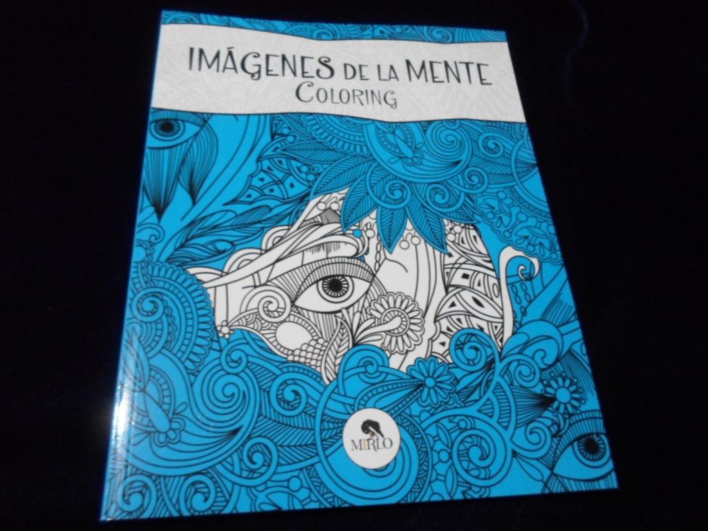 Imagenes De La Mente Coloring Para Colorear Mandalas Libro ...
