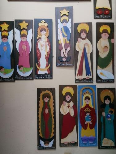 imagenes de virgenes santos y religiosas en mdf
