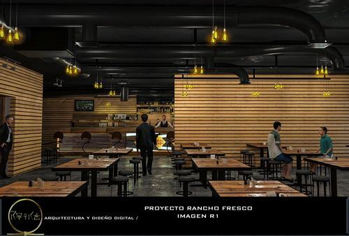 imágenes en 3d render arquitectura