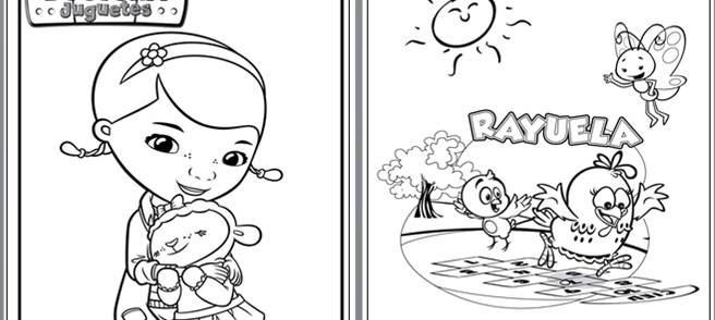Imagenes Para Colorear Diferentes Personajes, Solo Imprimes ...