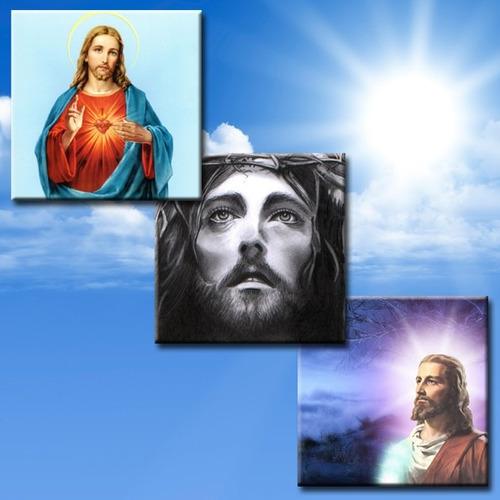 imágenes religiosas en fotos vitrificadas mdf santo virgen