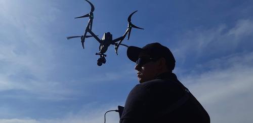 imagens aéreas com drone inspire2 com x5s
