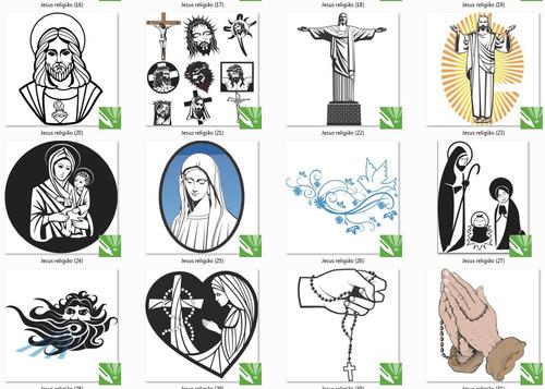 imagens e vetores jesus, maria, religião.