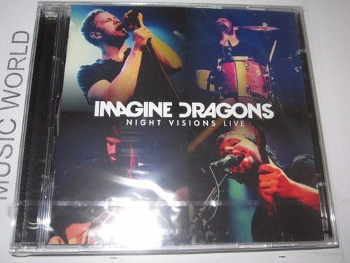 imagine dragonsnight visions live cd + dvd disponible!